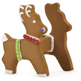 Ready for Christmas Eve Gingerbread Sleigh Reindeer