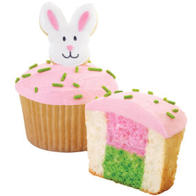 Peek-A-Boo Bunny Cupcakes