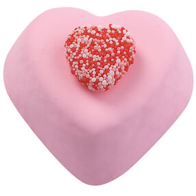 Gummy Hearts Mini Cakes