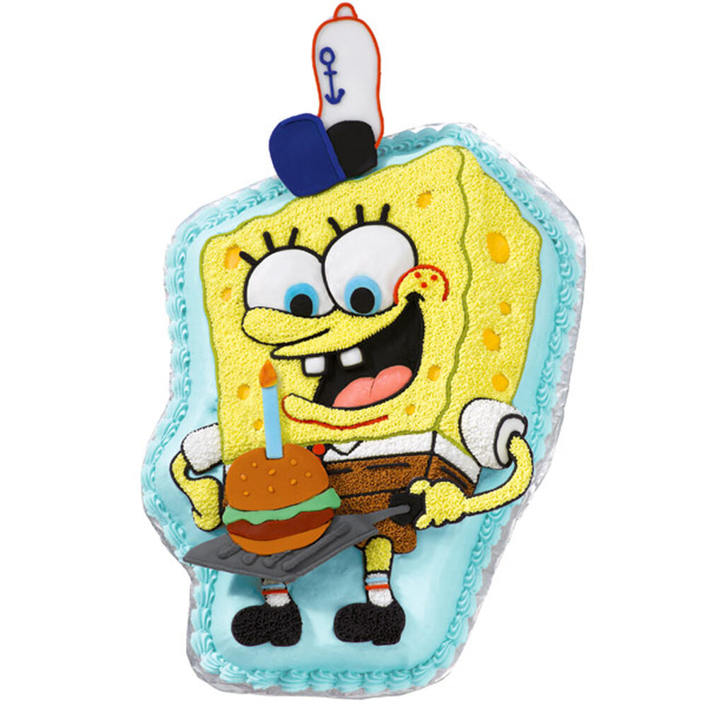 spongebob squarepants icing color set wilton