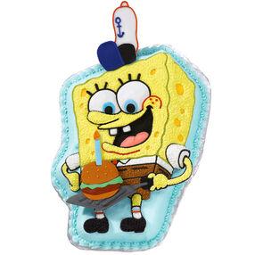 Grillmaster SpongeBob Cake