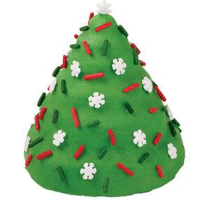 Snowflake-Kissed Tree Mini Cake