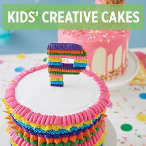 Kids' Creative Cakes