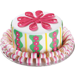 Ribbon-Go-Round Cake