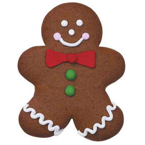 Jolly Gingerbread Guy Cookies