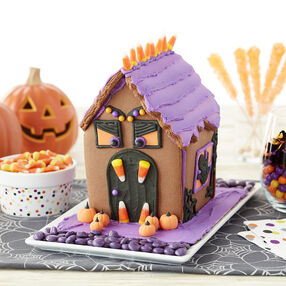 frightfully fun halloween cookie house