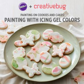 Painting with Icing Gel online class with CreativeBug