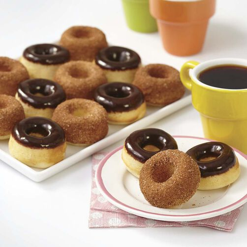 Baked Mini Cake Donut Recipe Wilton