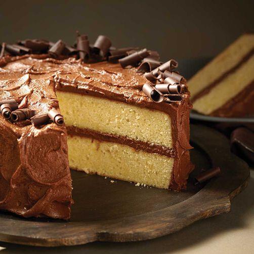 Wilton Chocolate Buttercream Butter Cake