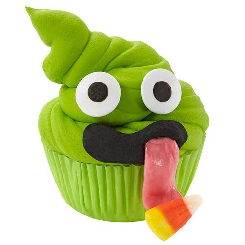 AdoraBOO Monster Cupcakes