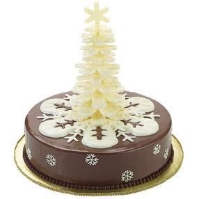 Sparkling Snowfall Cake