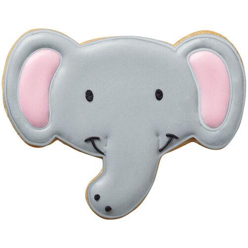 Smiling Elephant Cookies