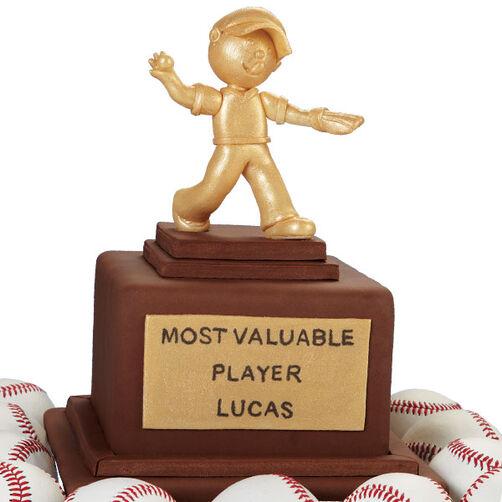 MVP Trophy Cake