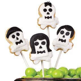 Kindred Spirits Skull Cookie Pops