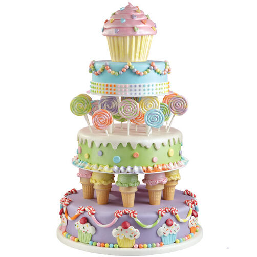 Sweet Treat Tiers Cake