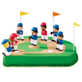 Birthday on the Basepaths Cake