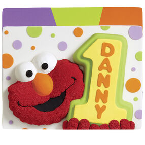One Big Elmo Celebration! Cake