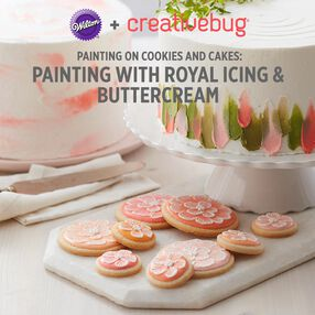Painting with Royal Icing and Buttercream CreativeBug online class