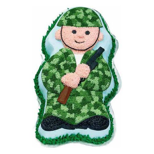Soldier Boy Cake