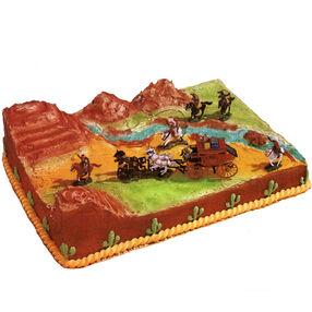 The Wild, Wild West Cake