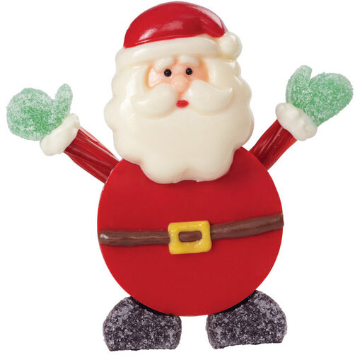 Candy Santa Welcomes All