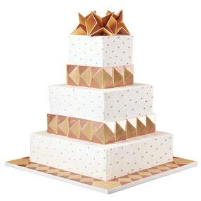 Golden Pyramids Cake