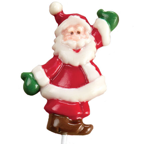 Santa's Big Entrance Candy Lollipops