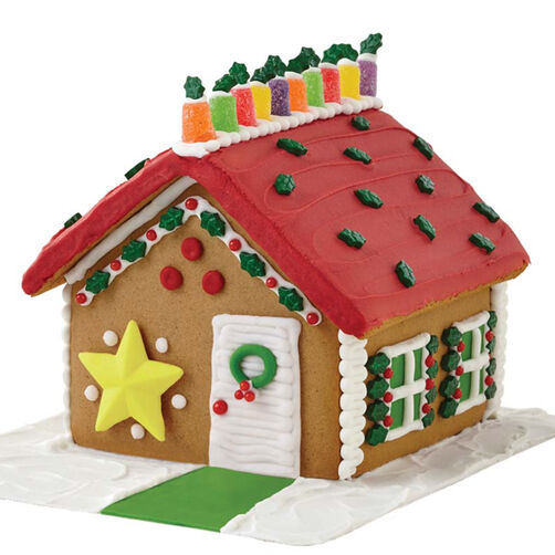 Star of the Holidays Gingerbread House #2