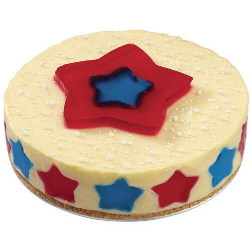 Sparkling Stars Cheesecake