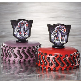 Traveling Transformers Mini-Cakes