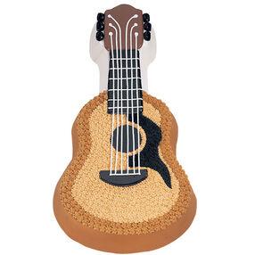Guitar cake wilton for Acoustic guitar decoration ideas