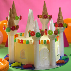 Magical Castle Cake
