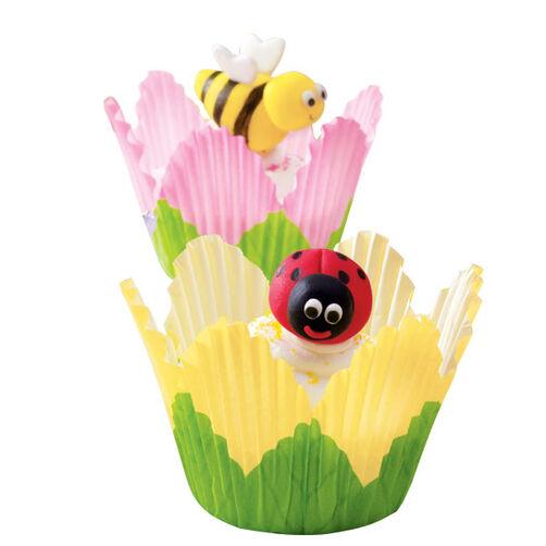 Garden Guests Cupcakes