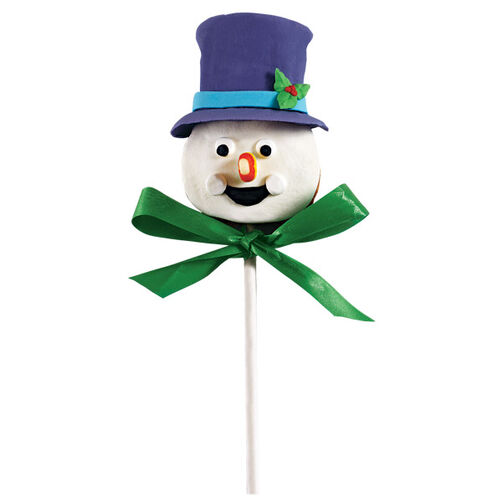Frosty's Festive Face Cookie Pop