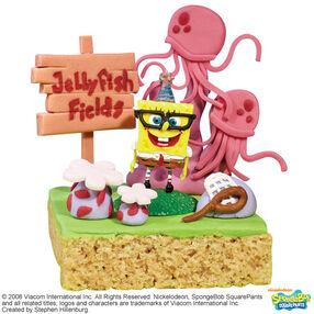 SpongeBob Enjoys the Sea-nery Crisped Rice Treats