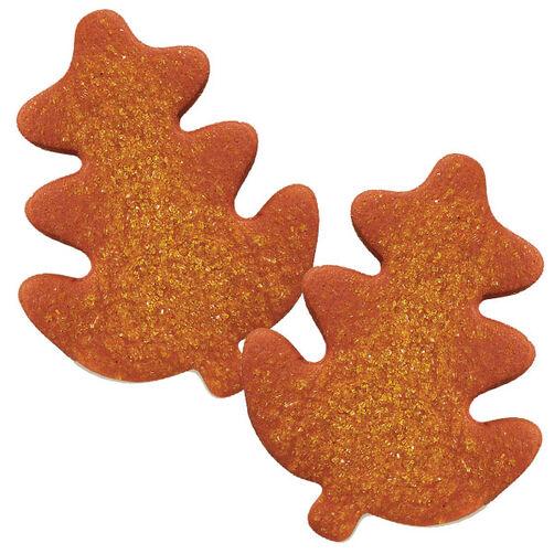 Sparkling Leaves Cookies
