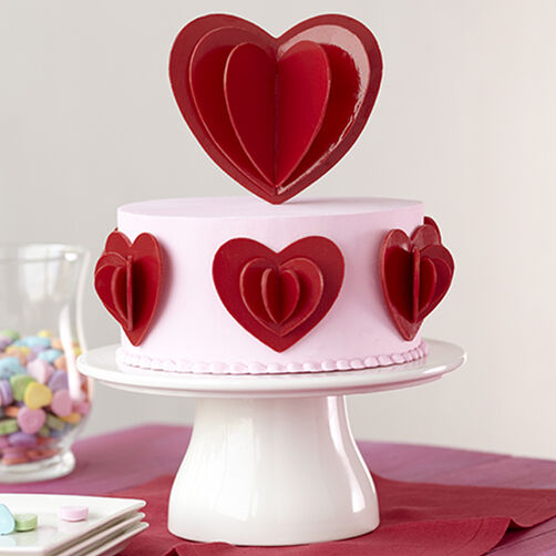 Love in Layers Candy Heart Cake