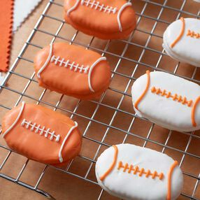 Wilton Peanut Butter Football Crackers