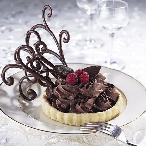 Chocolate Weave Dessert
