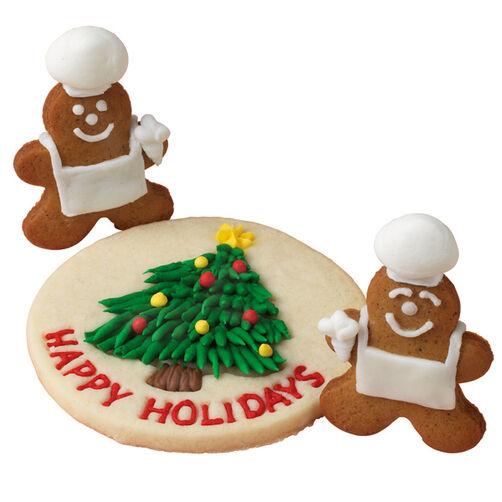 Chef Gingerbread Cookies