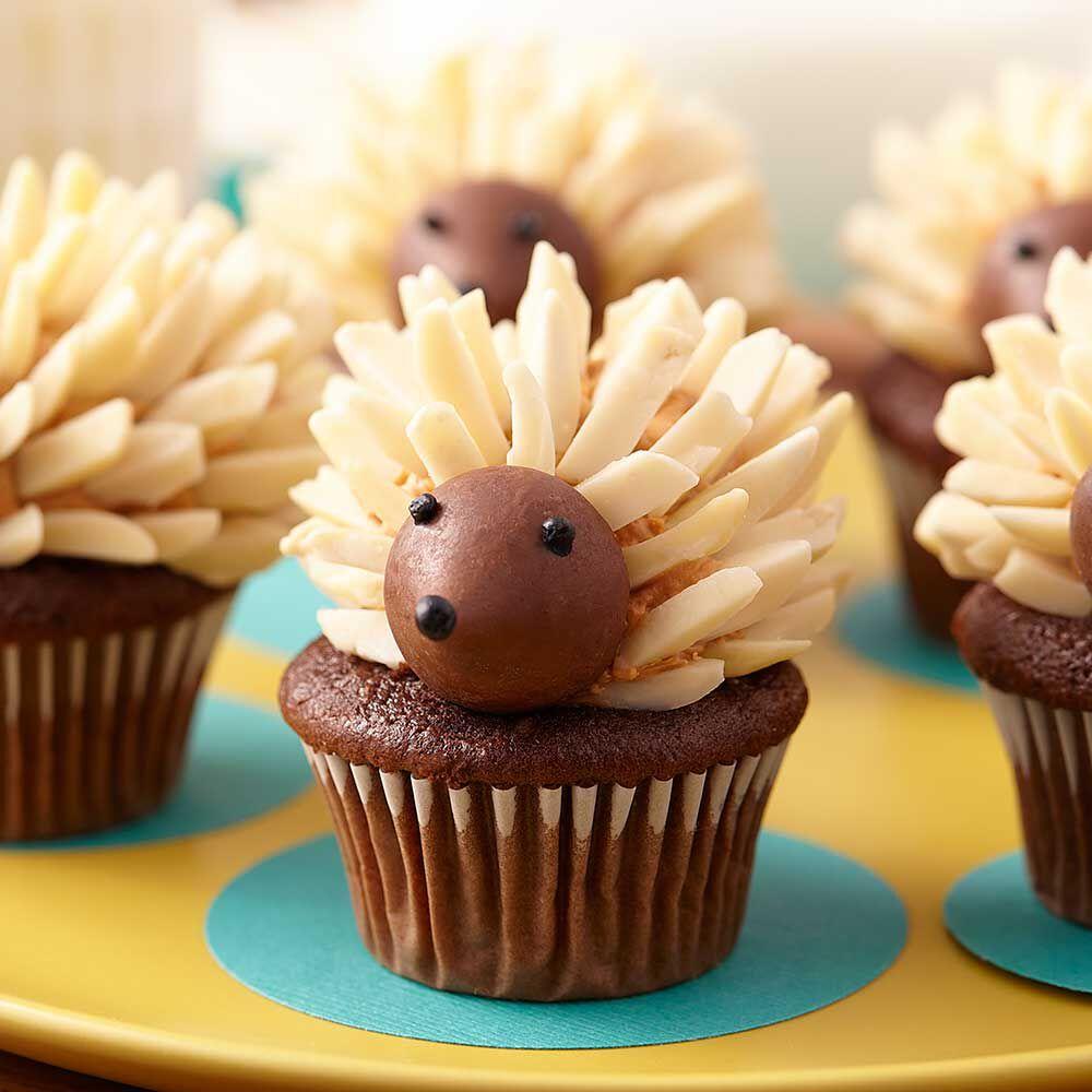 Sonic Mini Hedgehog Cupcakes