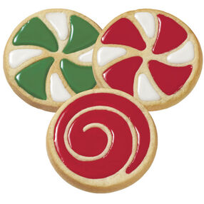 Easy Christmas Swirl Cookies