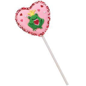 A Frog's Fancy Cookie Pop