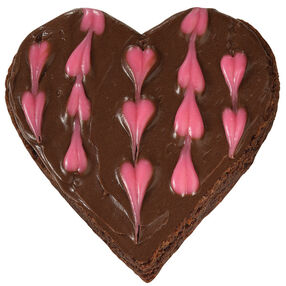 Heart Tugging Treat Brownies