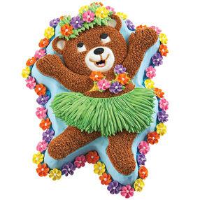 Hula Bear Cake