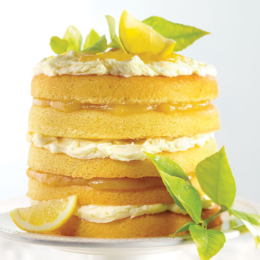 Citrus Burst Cake Recipe Wilton
