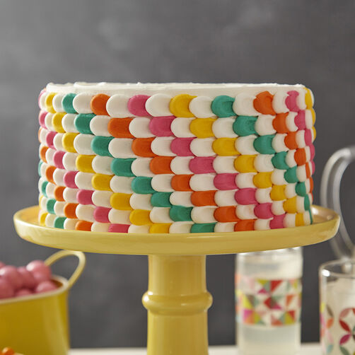 Pulled Dot Party Cake