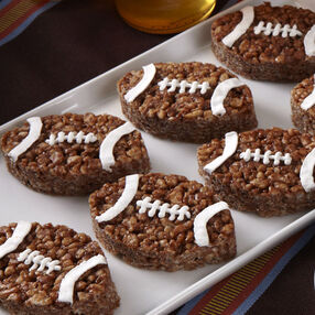 Chocolate Kickers Cereal Treats