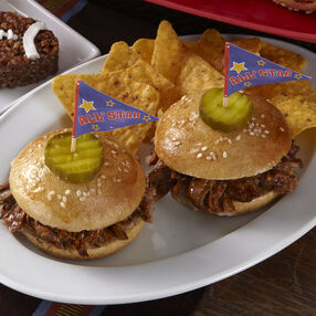 Mini Pulled Pork Sandwiches