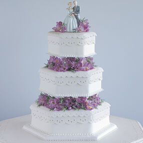 Delicate Drama Cake
